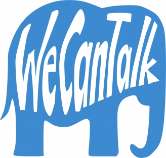 we can talk logo